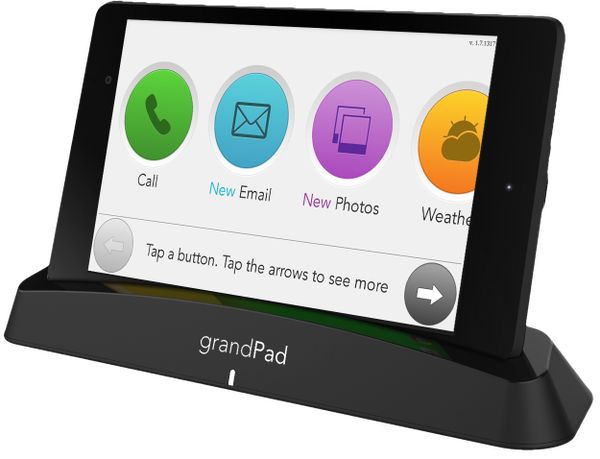 tablets for seniors grandpad